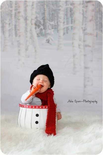 маленький снеговик