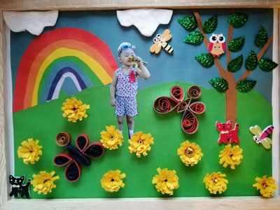 летние поделки для детей в садик 1