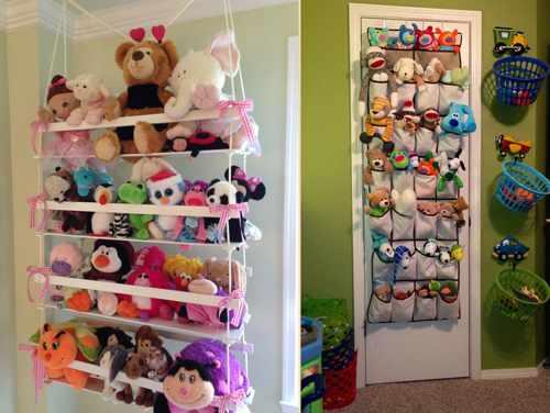 идеи хранения детских игрушек 10