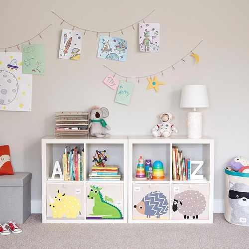 идеи хранения детских игрушек 8