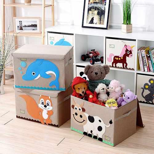 где хранить игрушки в детской 4