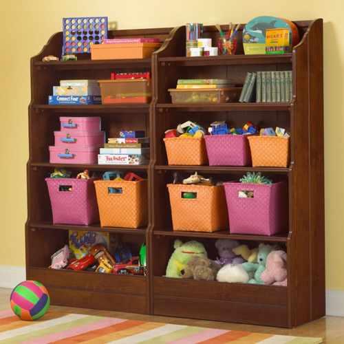 идеи хранения детских игрушек 7