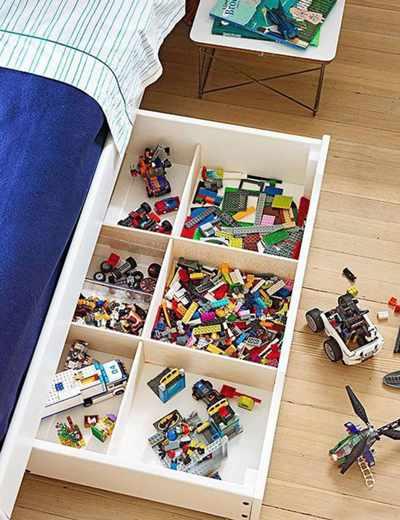 идеи хранения детских игрушек 5