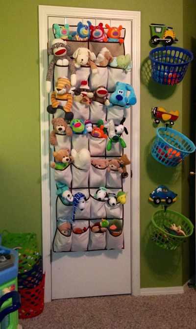 идеи хранения детских игрушек 4