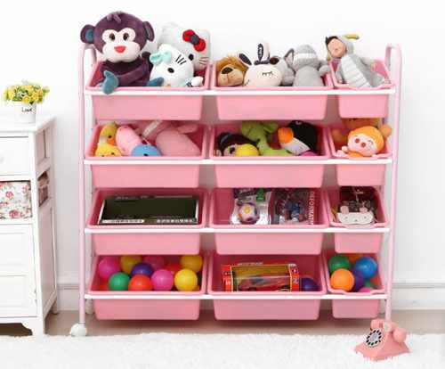 идеи хранения детских игрушек 3