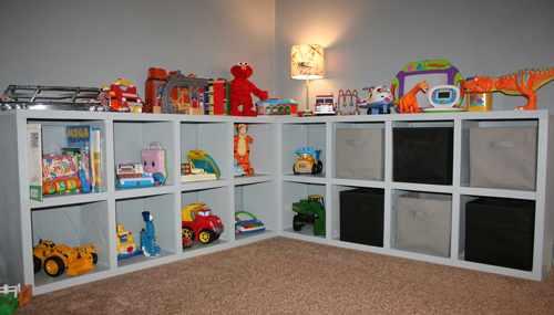 идеи хранения детских игрушек 2