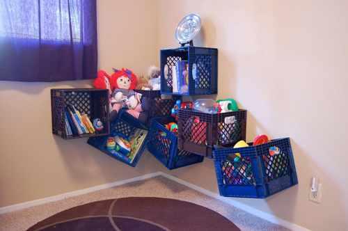 как хранить детские игрушки в однокомнатной квартире