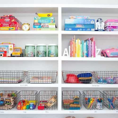 как хранить мягкие игрушки в детской