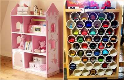 идеи хранения детских игрушек 15