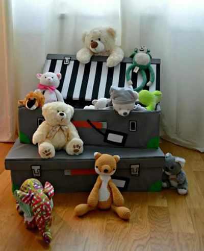 где хранить детские игрушки