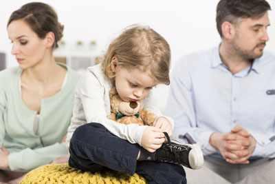 как сказать детям о разводе родителей