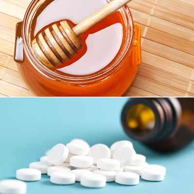 аспирин и мед от веснушек для девушек