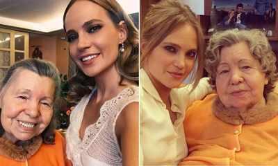 Певица Глюкоза и бабушка
