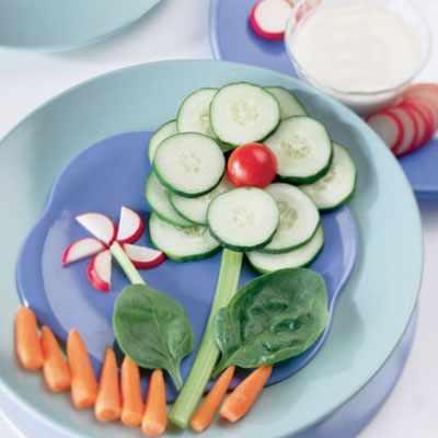 какие овощи любят дети