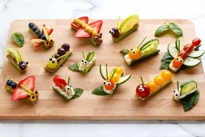 интересные блюда из овощей для детей