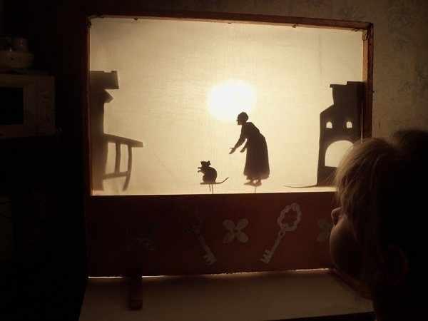 занятие с визуальным сопровождением в виде театрализованного представления