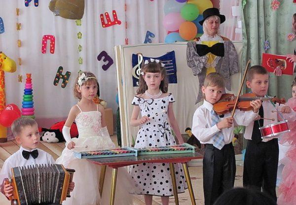 Инструментальный оркестр в детском саду