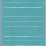 карточка синяя