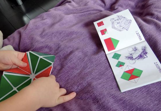 Игра с квадратом Воскобовича