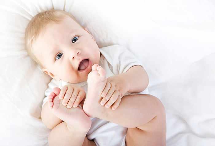Трехмесячный малыш